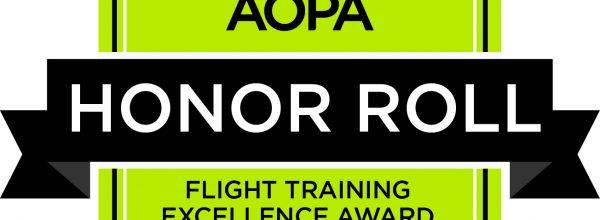 AeroDynamic Aviation makes AOPA's Honor Roll!