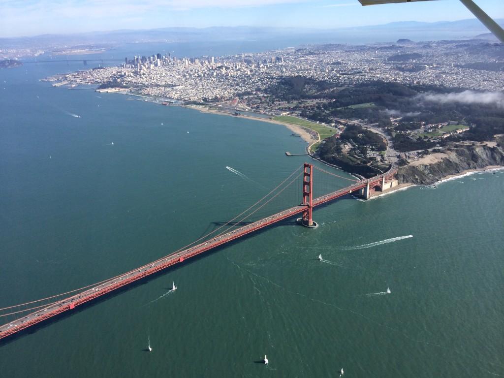 Bay Area, golden gate bridge, san francisco, flight, tour