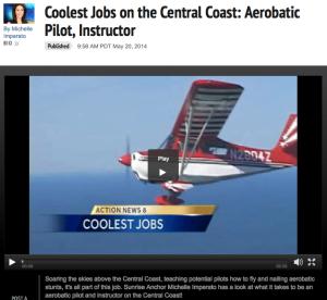 Aerobatics, acrobatic, KSBW news