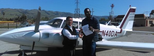 New Multi-Engine Commercial Pilot