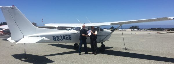 New Private Pilot – Paul Cain