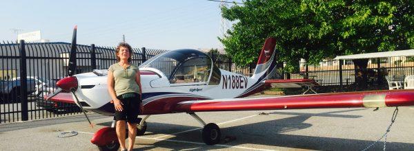 New Sport Pilot – Deirdre Smith