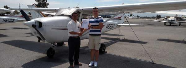 New Private Pilot – Richard Lee