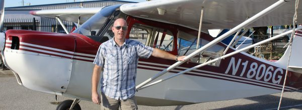 First Solo Flight – Christian Goetz