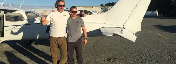 First Solo Flight – Dale Friday