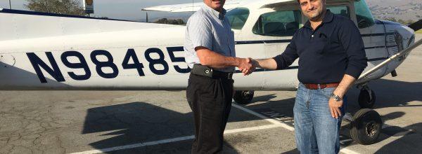 New Private Pilot – Fred Schulze