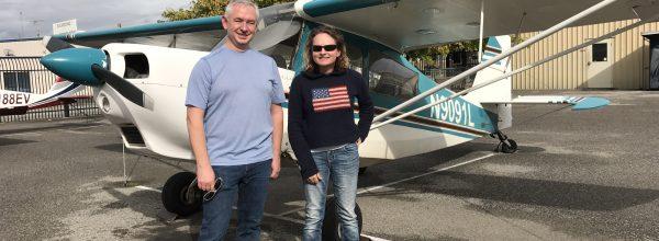 First Solo Flight – Terrel Hill