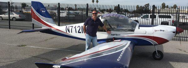 First Solo Flight – Greg Seibert
