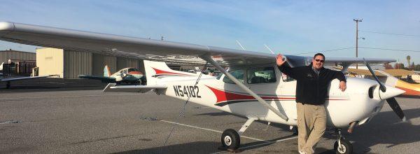 First Solo Flight – Trevor Orr