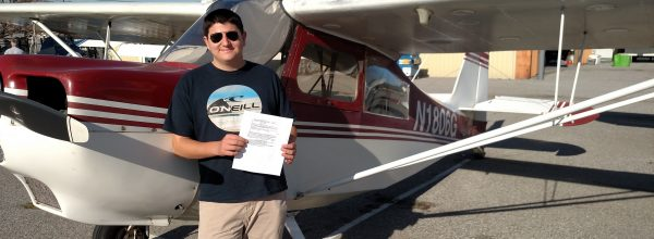 New Private Pilot – Edan Ben-Moshe
