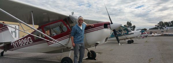 First Solo Flight – Elliot Young