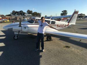 Commercial Pilot, multi-engine, twin comanche, checkride
