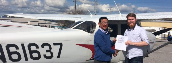 New Private Pilot – Matt Fall