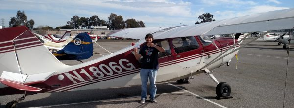 New Private Pilot – Shawn Nikkila