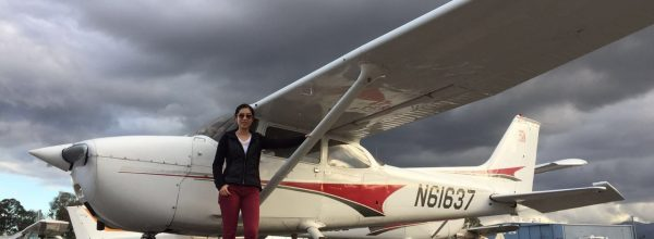 First Solo Flight – Kelsie Zhao