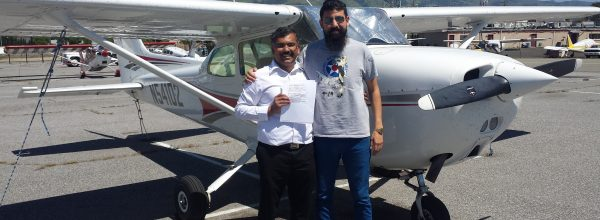 New Private Pilot – Malick Usman