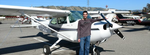 New Private Pilot – Andrew Shacker