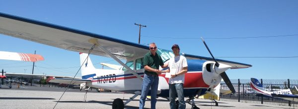 New Private Pilot – Jeff Chern