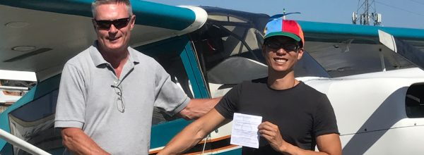 New Private Pilot – Ivan Wong