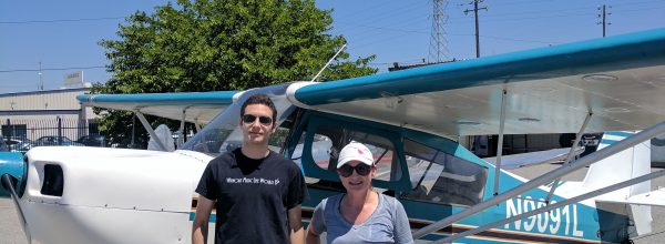 First Solo Flight – Thomas Seymour-Cozzini