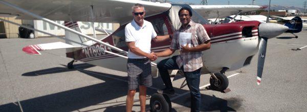 New Private Pilot – Craig Reid