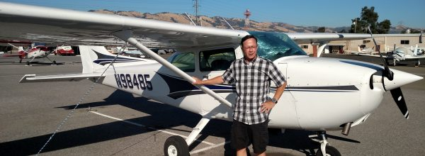 New Private Pilot – Dave Heckel