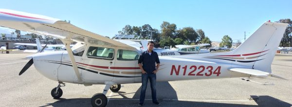 First Solo Flight – Andrew Kuo