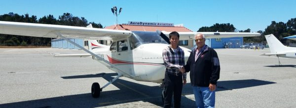 First Solo Flight – Joonwoo Cho