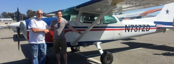 First Solo Flight – Julien Pourtet