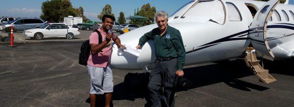 New Commercial Pilot – Nishant Veluthedath