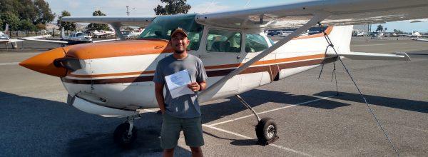 New Commercial Pilot – Adjie Pamungkas