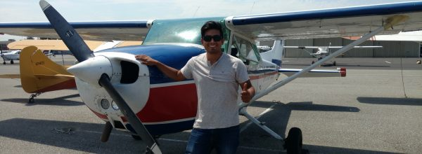 New Commercial Pilot – Saul Meza