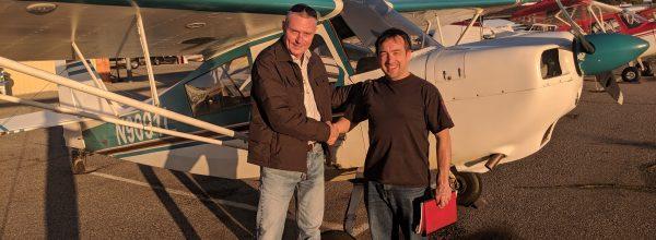 New Private Pilot – Sergey Kataev