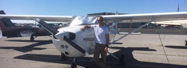 First Solo Flight – Matthew Tripp