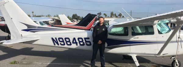 First Solo Flight – Alex Poklewski