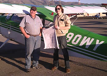 Joel soloes a Citabria at AeroDYnamic Aviation flight training school San Jose California