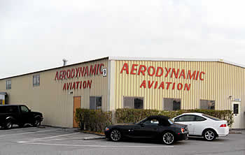 AeroDynamic Aviation hangar, Reid Hillview Airport