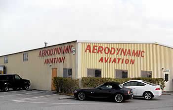AeroDynamic Aviation hangar, Reid Hillview Airport