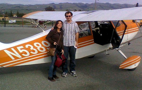 Brady Eidson's forst flight as Private Pilot