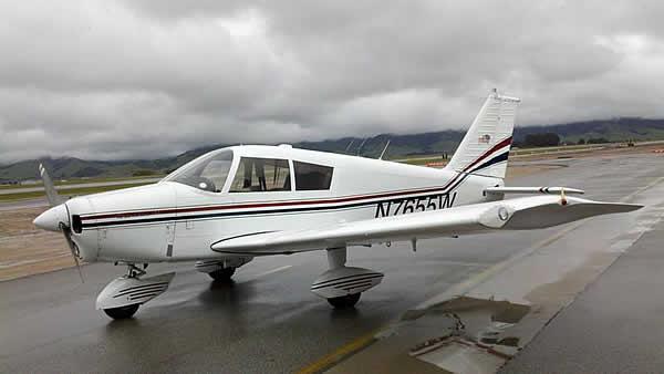 Arnold and Rich, graduates of AeroDynamic Aviation flight training school buy a Cherokee