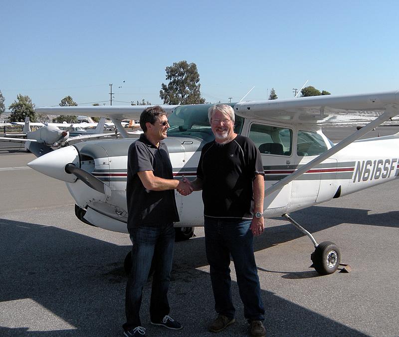 Thomas Daniel CFI certified flight instructor at AeroDynamic Aviation flight training school San Jose, San Francisco Bay Area