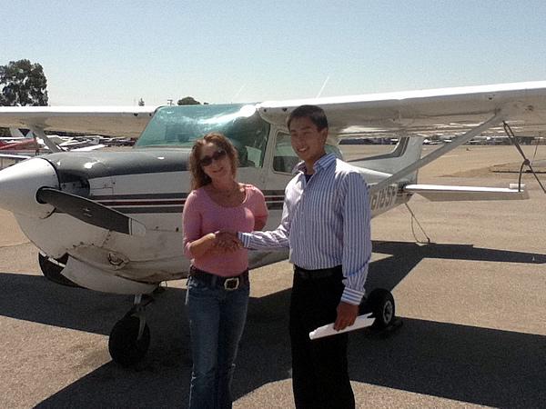 Aerodynamic Aviation » New Commercial Pilot:Brian Hsu