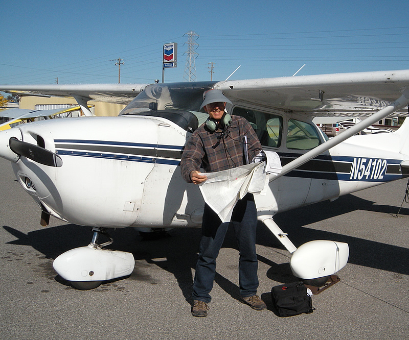 Andy earns instrument rating