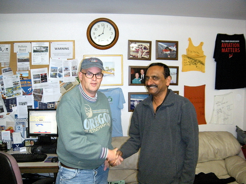 Anup Kumar earns ATP at AeroDynamic Aviation flight school San Jose Salinas San Francisco Bay Area California