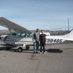 Vasily Kuntsevich soloed Cessna 172 N98485 out of AeroDynamic Aviation located at Reid Hillview Airport in San Jose, CA.