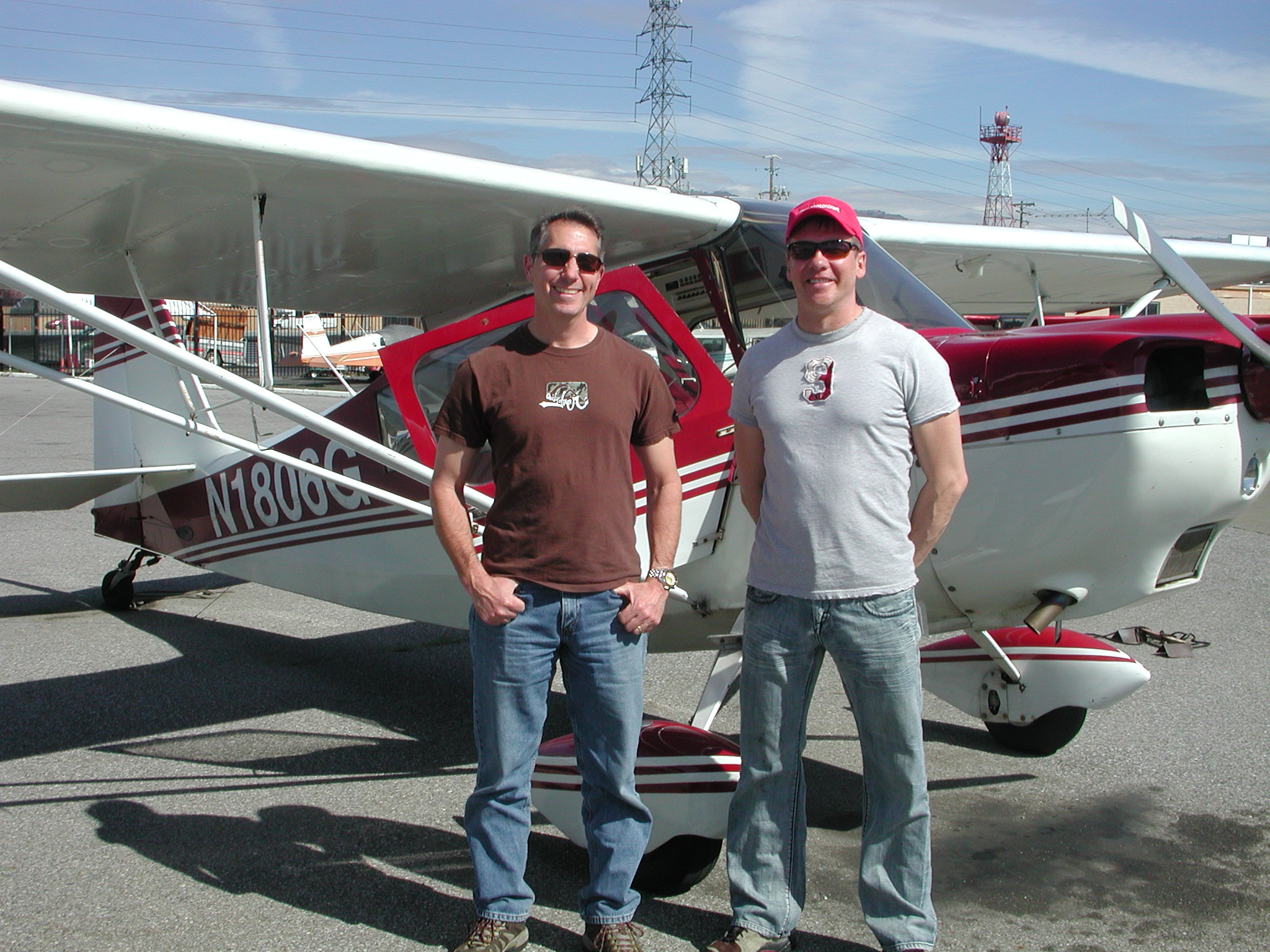 Tom Tymn flies tailwheel at AeroDynamic Aviation located at Reid Hillview Airport in San Jose, CA