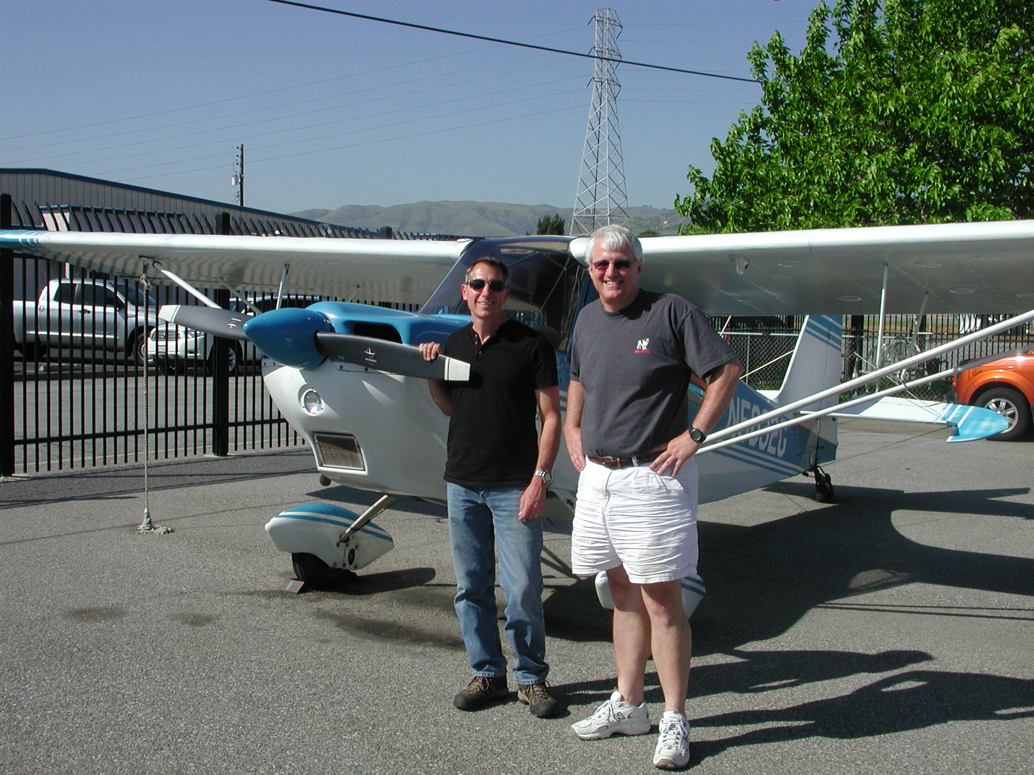 Chris Bennett started private pilot training at AeroDynamic Aviation located at Reid Hillview Airport in San Jose, CA.