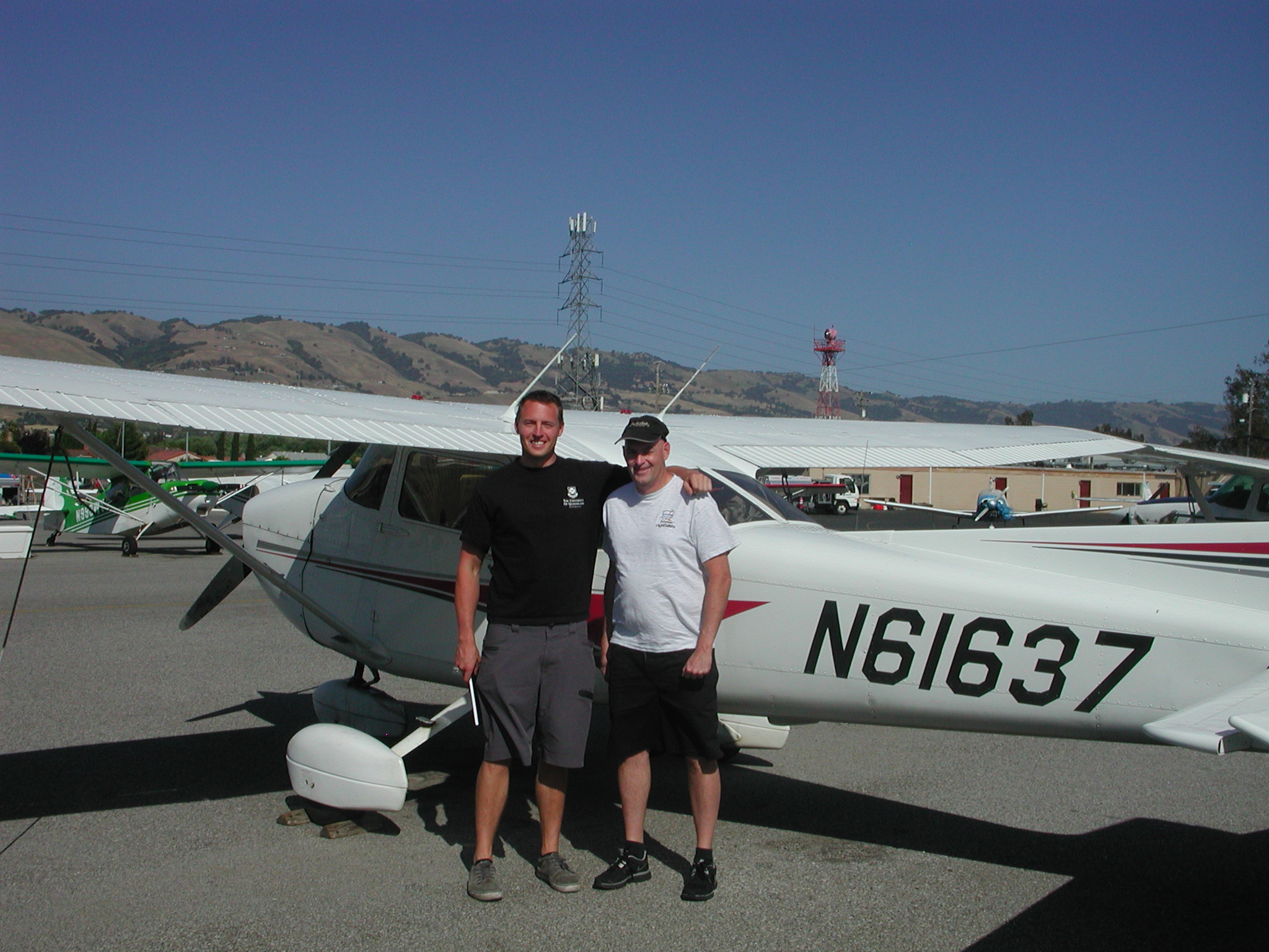 Mark Nelson passes Private Pilot checkride at AeroDynamic Aviation located at Reid Hillview Airport in San Jose, CA.