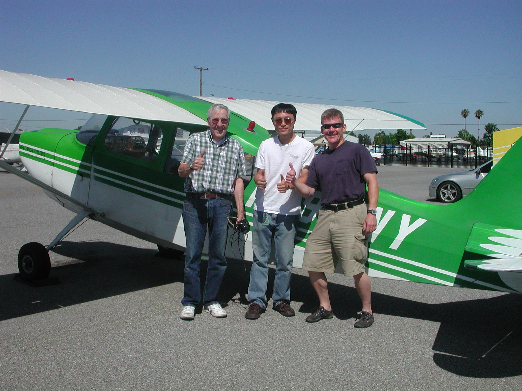 Matthew Lai soloes Citabria out of AeroDynamic Aviation at Reid Hillview Airport in San Jose, CA.