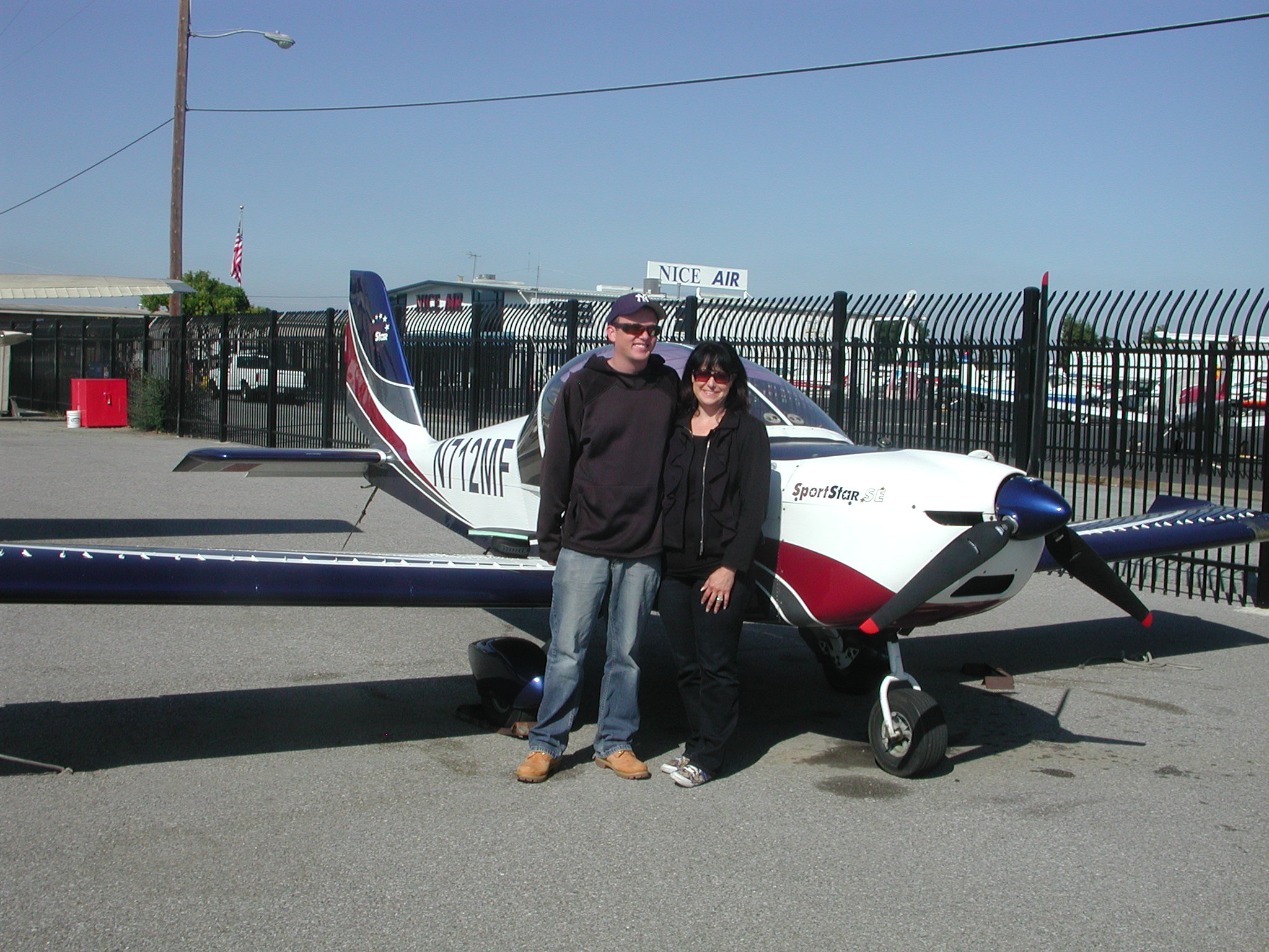 Anny Aubin soloes Evektor SportStar out of AeroDynamic Aviation located at Reid Hillview Airport in San Jose, CA.